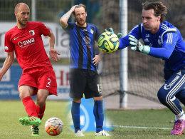 Bundesligaerfahrung pur: Viele Spieler in der Regionalliga spielten einst auf h�chstem Niveau.