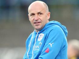 Wacker-Coach Albersinger fordert Wiedergutmachung