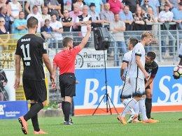 Ulm fordert Wiederholung des Elversberg-Spiels