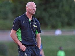 Gladbachs Trainer Arie van Lent.
