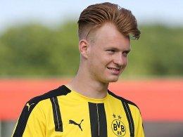 Gladbach gibt Sieg gegen zehn Dortmunder aus der Hand