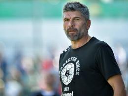 Burghausen-Coach Wolf: