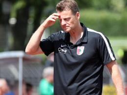 Rücktritt: Wörns nicht mehr Trainer beim FC Augsburg