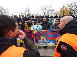 Chinas U 20: Auch in Frankfurt sind Aktionen geplant
