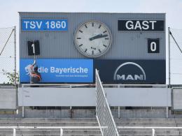 Bayern-Streich? 1860 München vermisst ein Schild