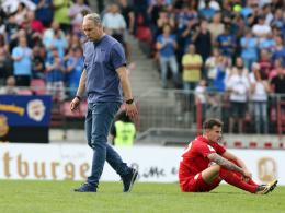 Im Sommer: Offenbach und Trainer Reck trennen sich