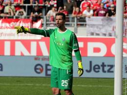 Waldhof-Keeper Scholz:
