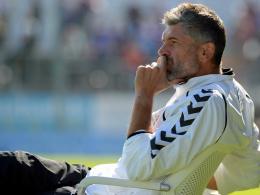 Burghausen: Verbleib von Trainer Wolf weiter fraglich