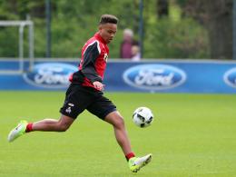 Kölns Nartey: Pflichtspiel-Debüt in der Regionalliga