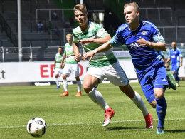 1:1 gegen Viktoria: Fürth II sichert Regionalliga-Verbleib