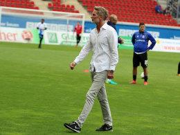 Trotz 0:7: Frankfurts Conrad hat das Vertrauen