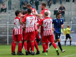 Kickers entführen Punkte aus Mannheim