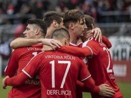 Sieg gegen BVB II: Viktoria setzt
