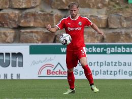 Zurück in der Heimat: Seegert spielt wieder für Waldhof