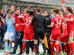 Derbypleite für die Löwen - FCB-Bank schützt Helmbrecht
