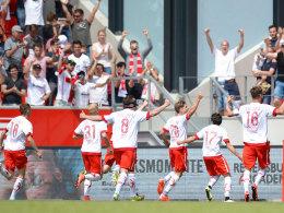 Regensburg macht den Aufstieg perfekt