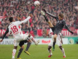 Cacau gegen Thomas Müller