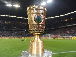 Das Objekt der Begierde: der DFB Pokal.