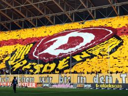 Sehen erstmal kein DFB-Pokalspiel ihres Teams mehr: Dynamo Dresdens Fans.