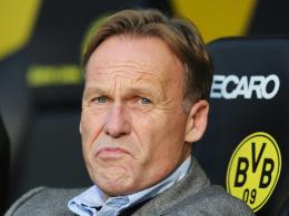 Empört: BVB-Chef Hans-Joachim Watzke wehrt sich gegen das Urteil des DFB-Sportgerichts.