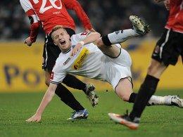 Duell ohne Folgen! Marco Reus hat sich nicht verletzt.