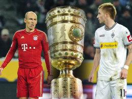 Arjen Robben und Marco Reus