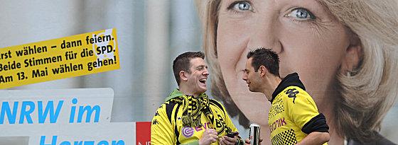 Wahltag in NRW - die BVB-Fans kennen das Rahmenprogramm rund um den Urnengang.