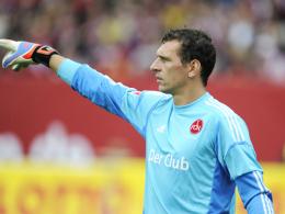 Rechtzeitig fit: FCN-Torhüter Raphael Schäfer hat seine Schulterverletzung auskuriert.
