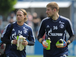 Timo Hildebrand (l.) und Lars Unnerstall