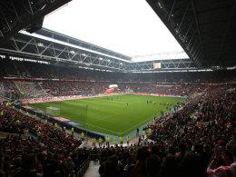 Die Arena von Fortuna Düsseldorf