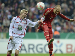 Robben besorgte für den FC Bayern das 2:0.