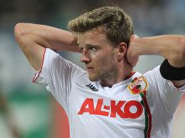 Zum Verzweifeln: FCA-Stürmer Stephan Hain.