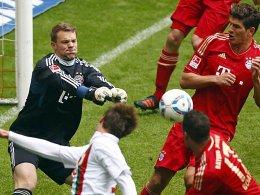 Pokalderby: Bayern München muss nach Augsburg.