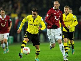 Nicht zu bremsen: Dortmunds Techniker Mario Götze.