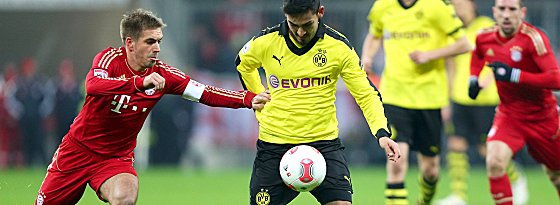 Philipp Lahm gegen Ilkay Gündogan