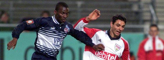 Ioan Viorel Ganea (r.) gegen Kölns Pascal Ojigwe