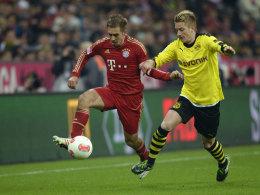 Philipp Lahm gegen Marco Reus