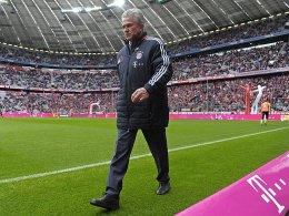 Respekt vor Wolfsburg: Bayern-Trainer Jupp Heynckes.