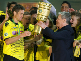 Sebastian Kehl (li.), Joachim Gauck