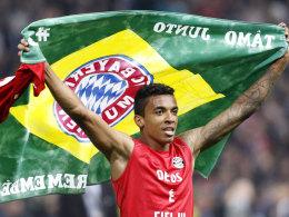 In Brasilien statt mit Bayern in Berlin: Luiz Gustavo.