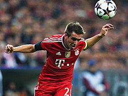 Bayern Münchens Kapitän Philipp Lahm.