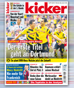 kicker, Ausgabe 67/2014