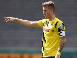 Zurück auf dem Platz: Marco Reus feiert sein Comeback in Dortmunds Startelf.