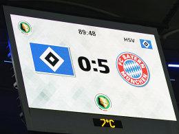 Der HSV muss wieder gegen München ran.