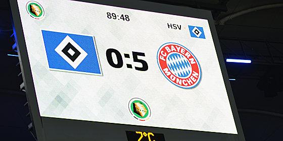 Der HSV muss wieder gegen M�nchen ran.