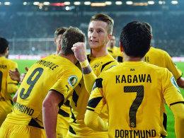 Gut in Schuss: Dortmunds Reus besorgte das 2:0 beim FC St. Pauli.