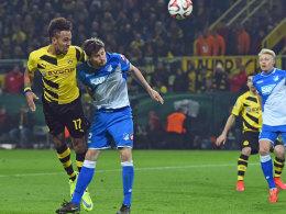 Machte den zwischenzeitlichen 2:2-Ausgleich: Dortmunds Pierre-Emerick Aubameyang.