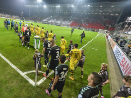 2014: St. Pauli gegen Borussia Dortmund