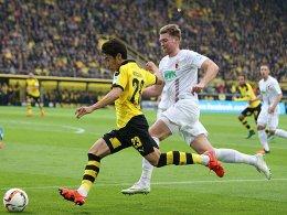 Pokal-Ansetzungen: FC Augsburg gegen BVB im Free-TV