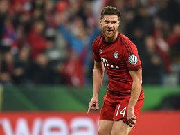 Verzückte die Fans in der Allianz-Arena mit seinem Kracher: Xabi Alonso.